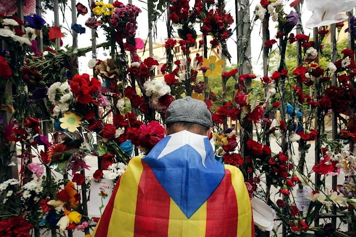 Catalan claims for independence date back centuries but have surged during recent years (AFP Photo/PAU BARRENA)