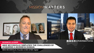 Mike McConville, Founder & CEO of M2C digital, was interviewed on the Mission Matters Innovation Podcast by Adam Torres.