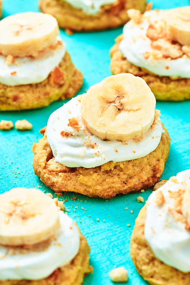"""<p>The only way to make banana pudding better is to serve it in cookie form.</p><p>Get the recipe from <a href=""""https://www.delish.com/cooking/recipe-ideas/recipes/a57100/banana-pudding-cookies-recipe/"""" target=""""_blank"""">Delish</a>.</p><p><strong><a class=""""body-btn-link"""" href=""""https://www.amazon.com/KitchenAid-KHM512ER-5-Speed-Ultra-Empire/dp/B009VUHLHA"""" target=""""_blank"""">BUY NOW</a><em> KitchenAid Hand Mixer, $40, amazon.com</em></strong></p>"""