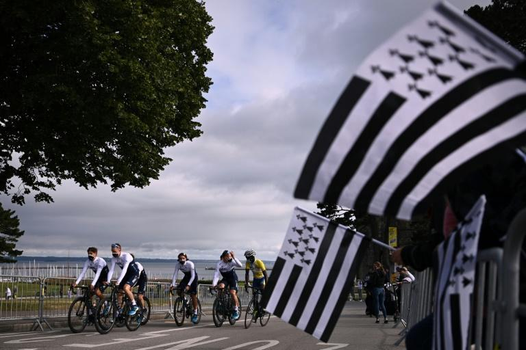 The race starts with four days in Brittany