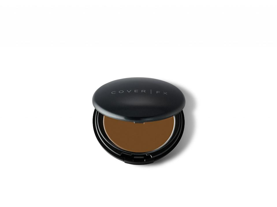 """<p>Our skin tends to get drier as we go further into the colder months, so it is a wise decision to go for a foundation that is a little heavier in texture. This cream-based pick perfectly evens out complexions with a whopping, wait for it … 40 shades to choose from! Once you find a hue you love, you will be equally enthused and impressed at how well the formula also balance out your undertones. The end result is pure radiance that you will be obsessed with. $42, <a rel=""""nofollow noopener"""" href=""""http://www.coverfx.com/total-cover-cream-foundation.html"""" target=""""_blank"""" data-ylk=""""slk:CoverFX.com"""" class=""""link rapid-noclick-resp"""">CoverFX.com</a>. </p>"""