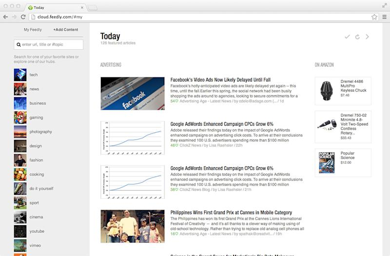 Review: Google Reader's end hatches better service