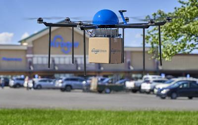 Kroger continues to transform grocery e-commerce with introduction of drone delivery pilot taking flight this spring in the Midwest in partnership with Drone Express.