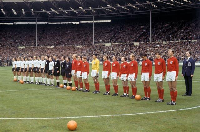 Hunt played in England's World Cup final against West Germany at Wembley