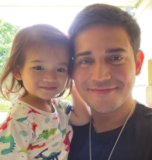Paolo Contis and the apple of his eye, his daughter Summer