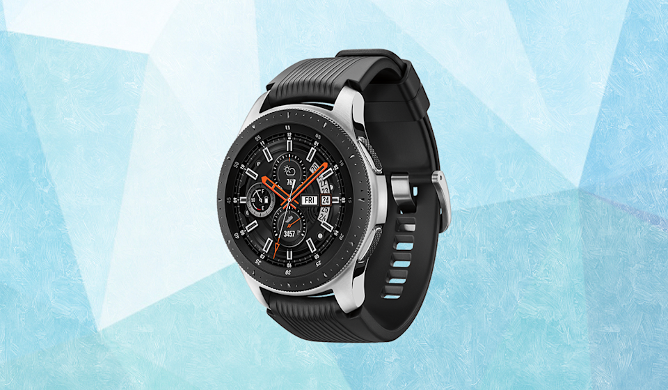 Save $159 on Samsung's stylish Galaxy Watch. (Photo: Walmart)