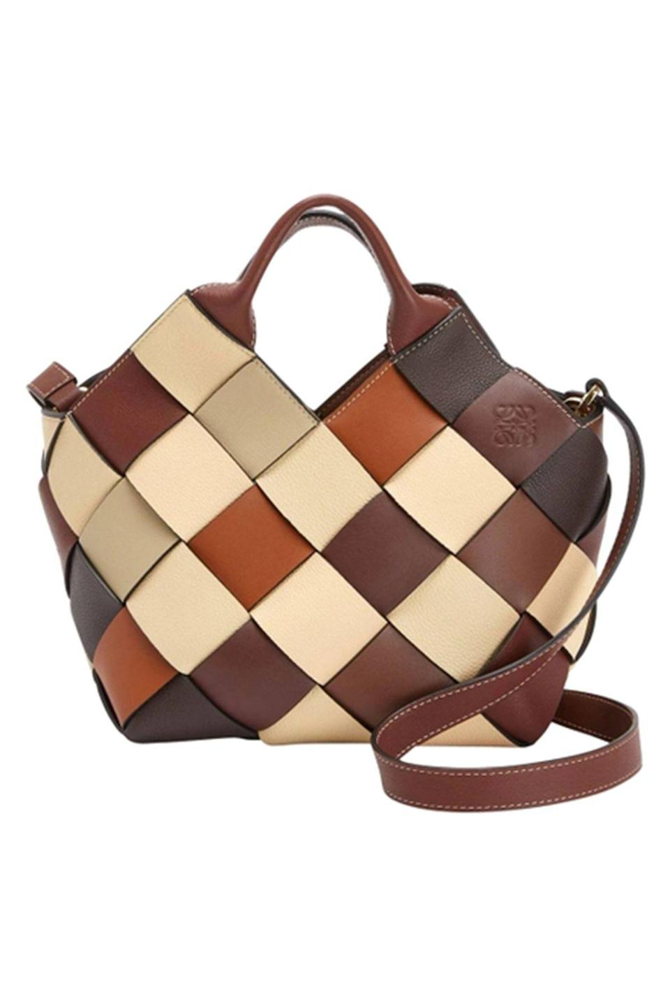 """<p><strong>Loewe</strong></p><p>thewebster.us</p><p><strong>$2350.00</strong></p><p><a href=""""https://go.redirectingat.com?id=74968X1596630&url=https%3A%2F%2Fthewebster.us%2Fshop%2Fsmall-color-block-woven-basket-tote-bag.html&sref=https%3A%2F%2Fwww.townandcountrymag.com%2Fstyle%2Ffashion-trends%2Fg36120168%2Fbest-sustainable-brands%2F"""" rel=""""nofollow noopener"""" target=""""_blank"""" data-ylk=""""slk:Shop Now"""" class=""""link rapid-noclick-resp"""">Shop Now</a></p><p>This handcrafted, woven bag comes from Loewe: Surplus Project, the brand's step towards sustainability, presented through accessories made from high quality surplus materials from previous collections. The house's signature smooth and soft-grained calfskin is meticulously braided together in a lattice formation to create this very responsible handbag. </p>"""