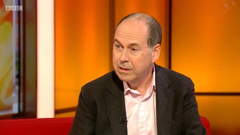 Tech reporter Rory Cellan-Jones discusses his Parkinson's diagnosis on 'BBC Breakfast'. (Credit: BBC)