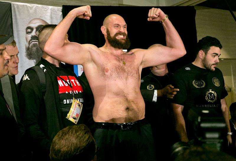 Opponent Revealed For Tyson Fury's ESPN Debut