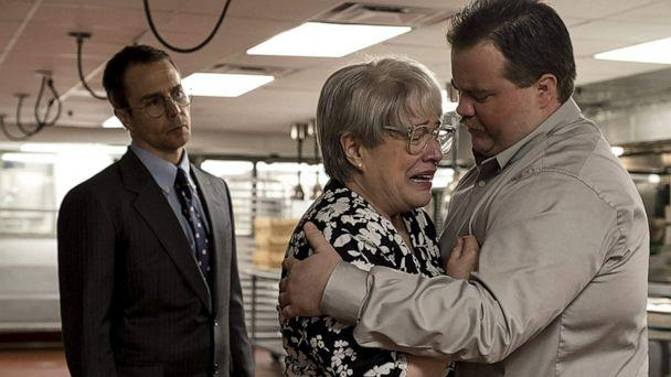 PHOTO: Kathy Bates, Sam Rockwell and Paul Walter Houser in a scene from the 2019 film, 'Richard Jewell.' (Warner Bros.)