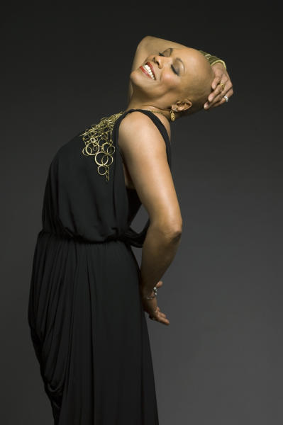 """In this March 23, 2010 photo provided by the Apollo Theater, Grammy Award Winning singer Dee Dee Bridgewater is seen in a publicity photo. Bridgewater will appear in three performances of """"Apollo Club Harlem,"""" in February 2013 at the Apollo theater. The production, with its nightclub theme, will be directed and choreographed by Maurice Hines. (AP Photo/The Apollo Theater, Mark Higashino)"""