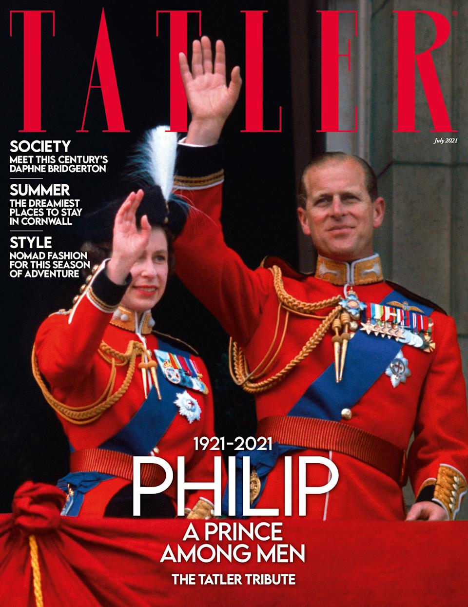 The July edition of Tatler
