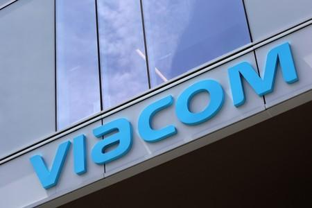 The Viacom office is seen in Hollywood, Los Angeles