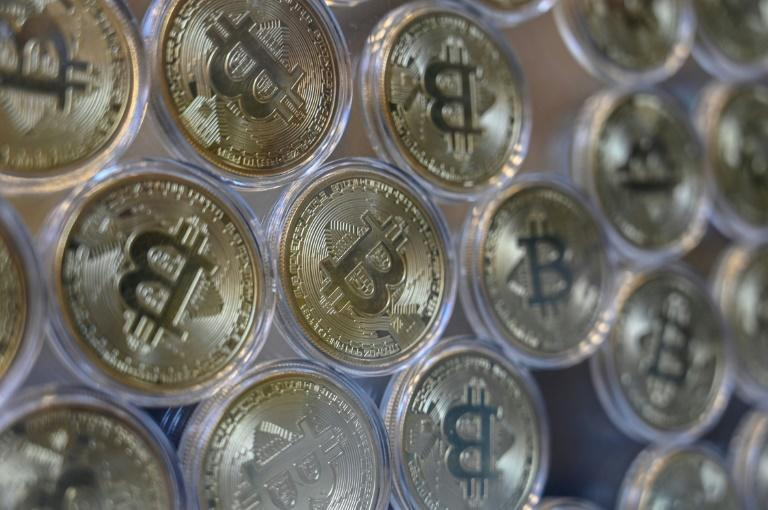 There is growing interest in bitcoin and other cryptocurrencies for adult content, but some say these systems remain cumbersome (AFP/Ozan KOSE)