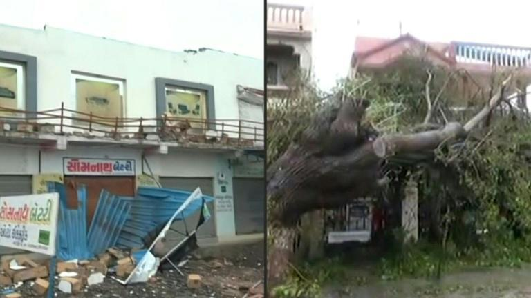 Monster cyclone batters Covid-stricken India