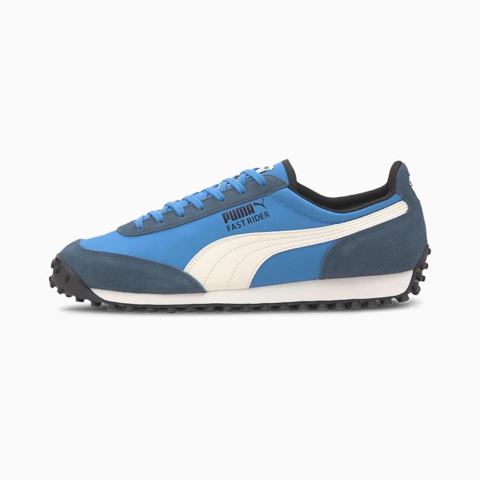 """<p><strong>puma</strong></p><p>puma.com</p><p><strong>$70.00</strong></p><p><a href=""""https://go.redirectingat.com?id=74968X1596630&url=https%3A%2F%2Fus.puma.com%2Fen%2Fus%2Fpd%2Ffast-rider-source-mens-sneakers%2F371601.html&sref=https%3A%2F%2Fwww.countryliving.com%2Flife%2Fg20688368%2Fstep-dad-fathers-day-gifts%2F"""" rel=""""nofollow noopener"""" target=""""_blank"""" data-ylk=""""slk:Shop Now"""" class=""""link rapid-noclick-resp"""">Shop Now</a></p><p>These sneakers come in a variety of colors and are sure to keep your stepdad happy and active. </p>"""
