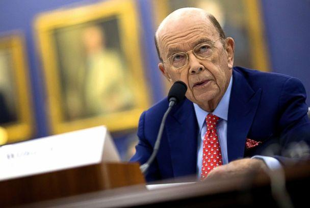 PHOTO: Wilbur Ross, U.S. commerce secretary, speaks during a House Appropriations Subcommittee hearing in Washington, D.C., March 20, 2018. (Eric Thayer/Bloomberg via Getty Images)