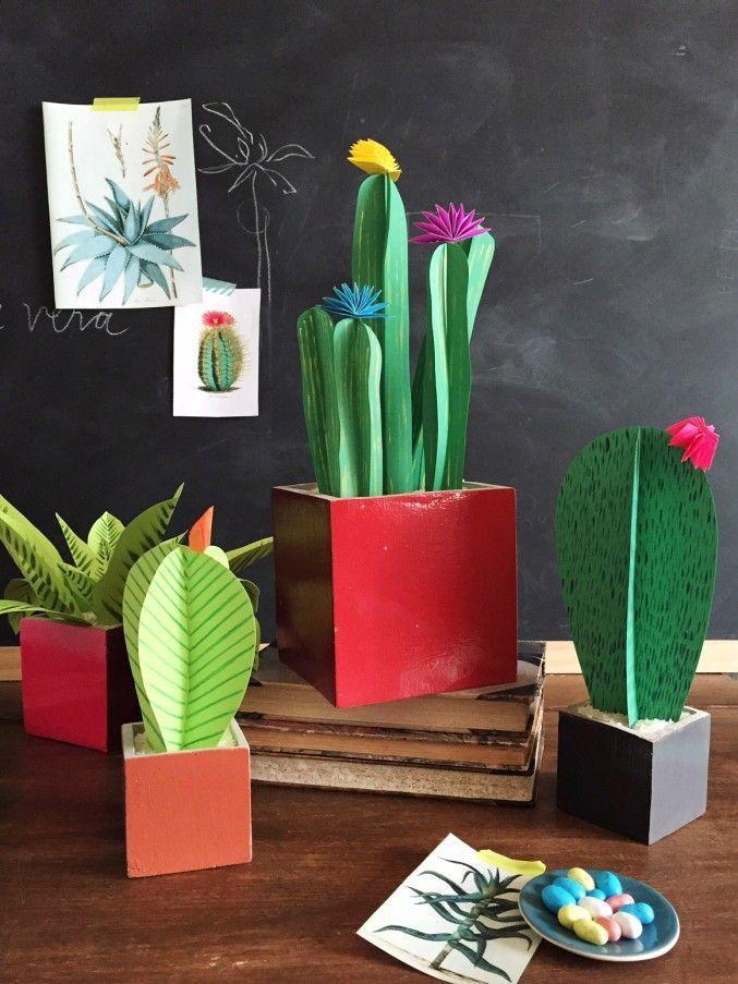 "<p>Here's a kid-approved craft that you and the little ones can make for grandma. All you need is colorful cardstock — and lots of imagination. Bonus: These plants don't need watering.</p><p><em><a href=""http://thehousethatlarsbuilt.com/2015/04/diy-paper-plants.html/"" rel=""nofollow noopener"" target=""_blank"" data-ylk=""slk:Get the tutorial at The House That Lars Built »"" class=""link rapid-noclick-resp"">Get the tutorial at The House That Lars Built »</a></em> </p>"