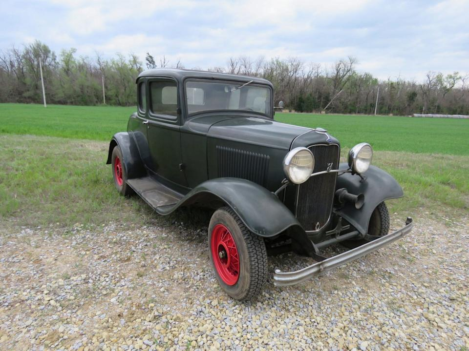 7R 1932 FORD ORIGINAL 5 WINDOW COUPE