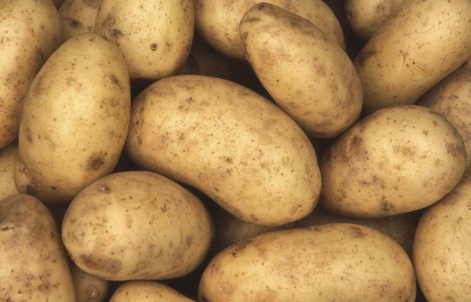 """<p>As well as potassium, spuds are a good source of antioxidants, says Anyia. """"Reheat it the day after baking. This increases its levels of resistant starch, which gets broken down into short-chain fatty acids and provides fuel for good bacteria."""" Prefer chips to jackets? Cut into wedges, boil for 5-10 minutes, then throw them in an air fryer with a spritz of olive oil, a pinch of sea salt and a sprinkling of fellow superfood rosemary.</p>"""