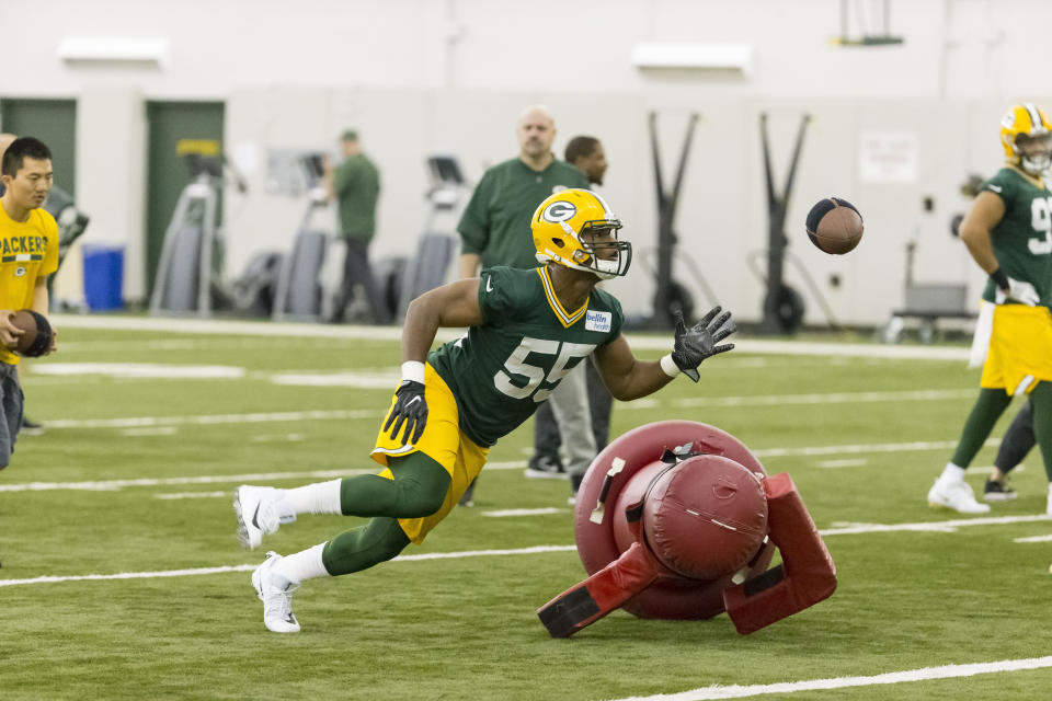 Green Bay Packers linebacker Ahmad Thomas is hoping to add a roster spot to an already-memorable year. (AP)