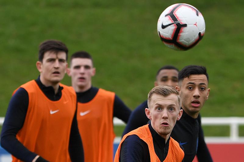 New faces: James Ward-Prowse is one of the young talents in the squad (AFP/Getty Images)