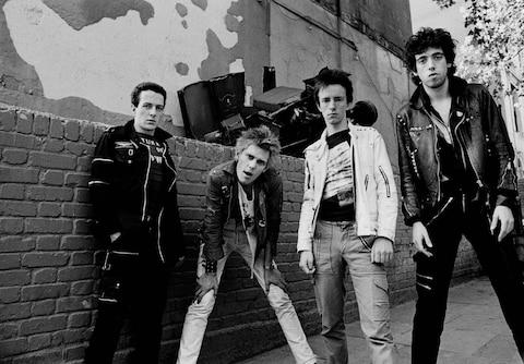 The Clash in 1977 - Credit: Adrian Boot