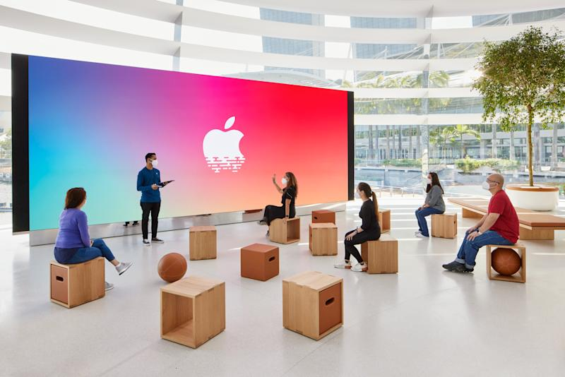 The Forum will soon serve as the stage for Singapore's artists, musicians, and creatives for Today at Apple sessions. (PHOTO: Apple)