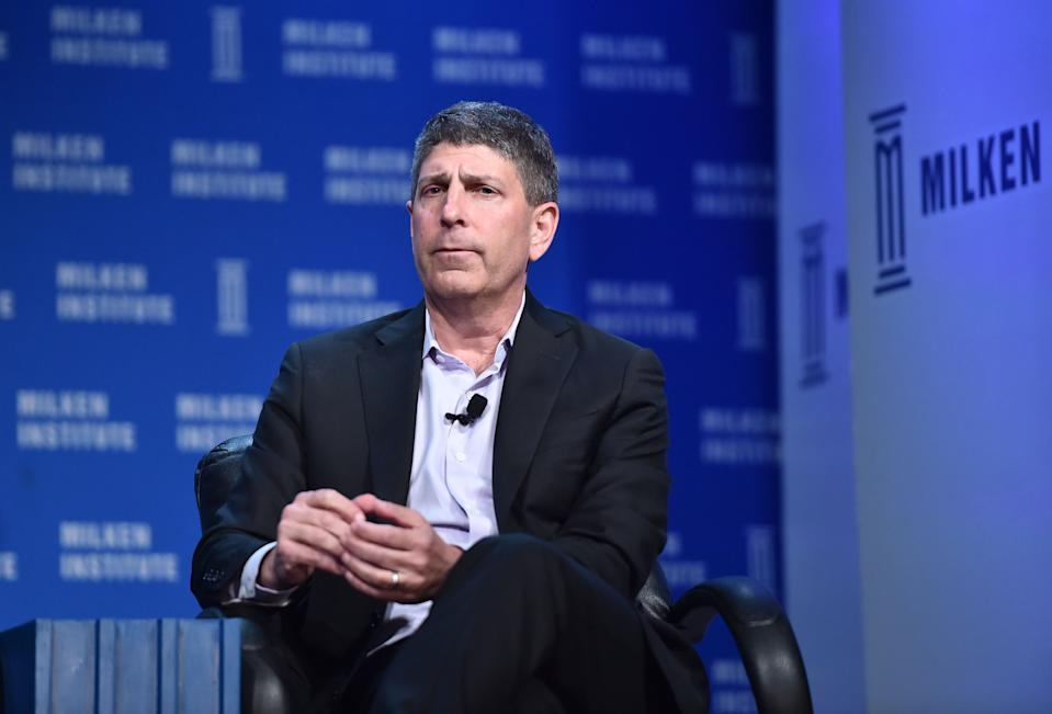 Jeff Shell speaks onstage at the 2016 Milken Institute Global Conference on May 04, 2016. (Photo by Alberto E. Rodriguez/Getty Images)