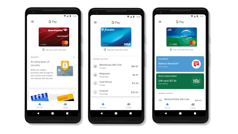 Google Pay réunit Android Pay et Wallet