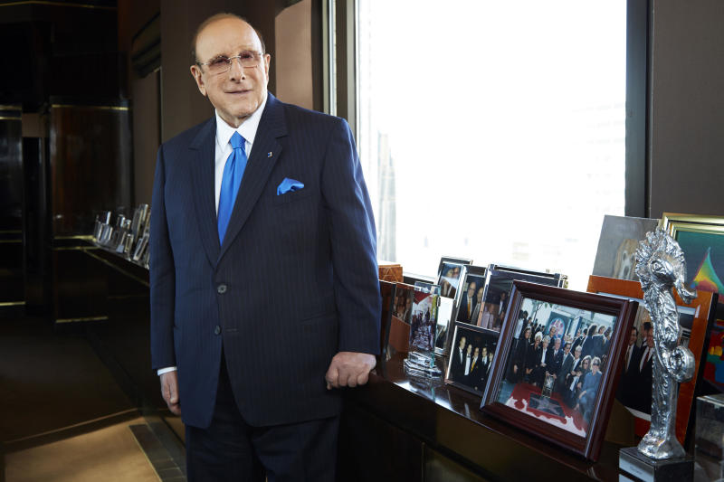 At 80, no break planned for music exec Clive Davis