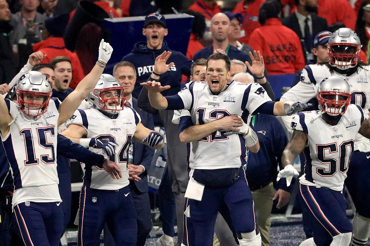 Last year, Tom Brady and the Patriots defeated the Rams 13-3, marking the sixth Super Bowl win for the New England team.
