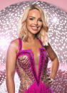 """<p>TV presenter Katie Piper was the first announced Strictly contestant this year. She said she can't wait to show her daughters her new dance moves: """"I feel so privileged and excited to be part of my favourite show on TV. I already know how much of an amazing experience it will be for me and I can't wait to show my girls some of my new dance moves.""""<br>(BBC Pictures) </p>"""