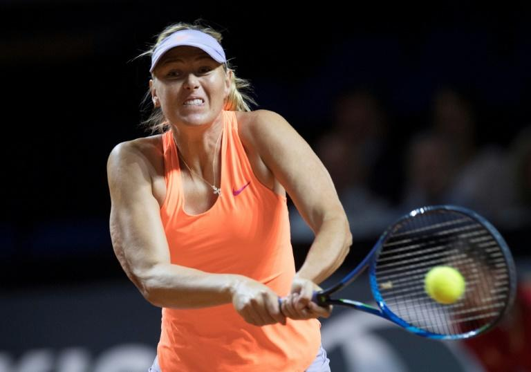 The Russian, who won Wimbledon in 2004, made her return to competitive tennis at the Stuttgart Open last week following a positive test for meldonium at the 2016 Australian Open