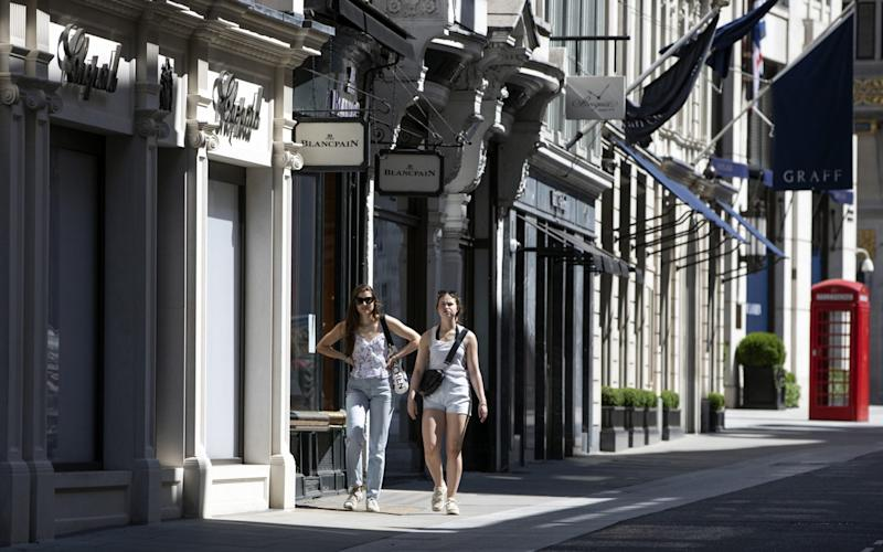 Shops are gearing up to reopen after a long period of closure - Getty