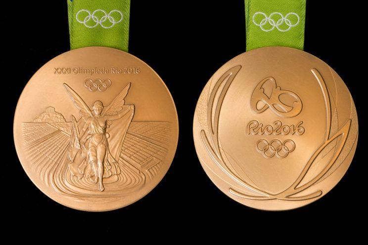 Olympic gold medal - Rio 2016 Games. Image credits: Rio 2016 | http://www.brasil2016.gov.br
