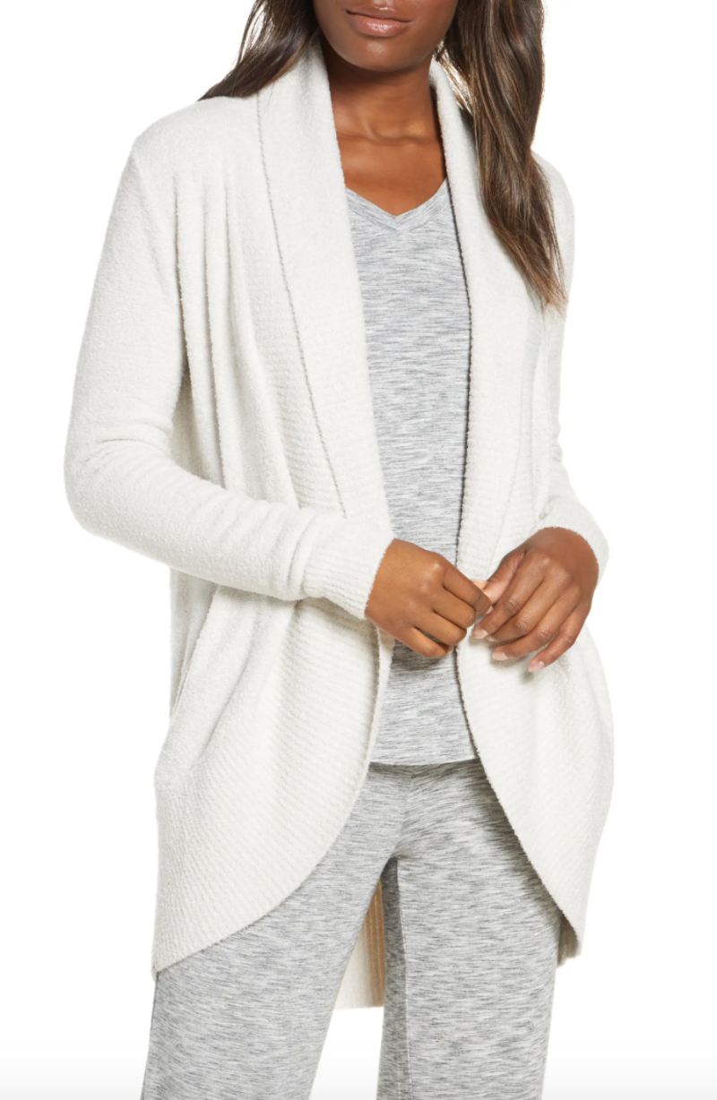 CozyChic Lite® Circle Cardigan by Barefoot Dreams. Image via Nordstrom.
