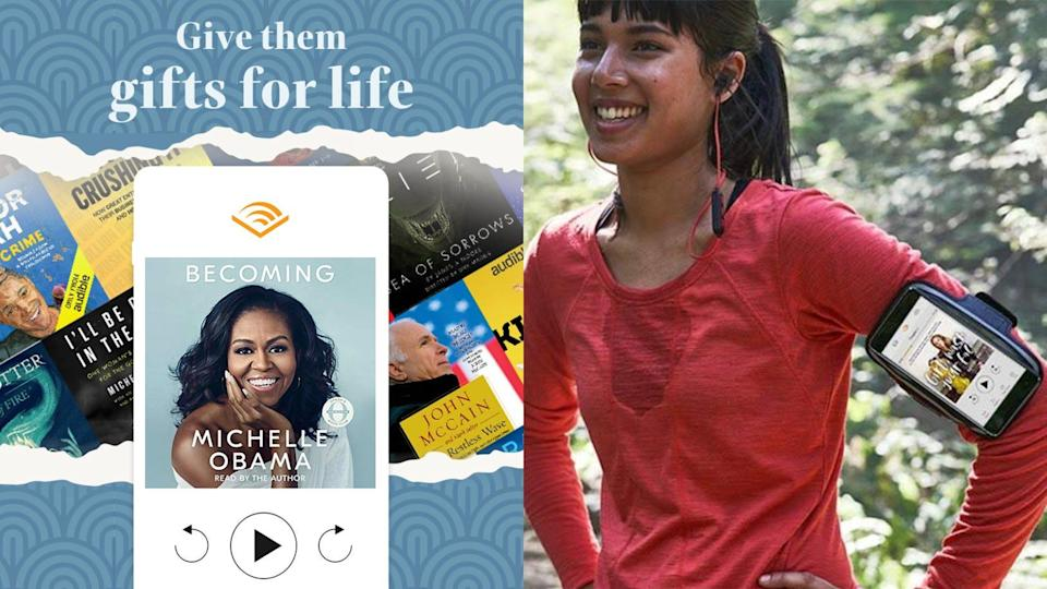 Best gifts for book lovers: Amazon Audible membership