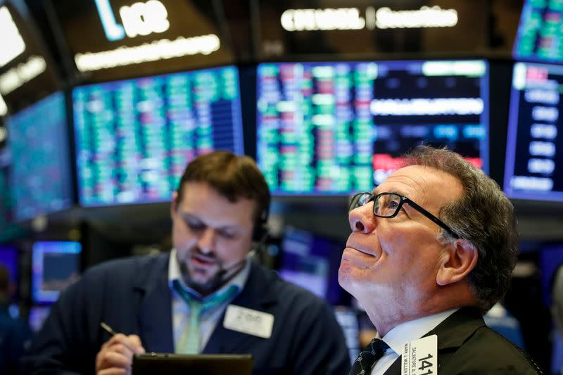 Stocks move lower on Wall Street following a big 3-day rally