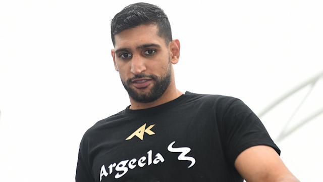 After having to remove his underwear to get inside the welterweight limit, Amir Khan wants to put on a show against Samuel Vargas.