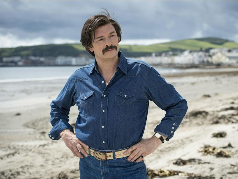 Julian Barratt stars as the washed-up actor Richard Thorncroft whose career peaked in 1980s cop drama 'Mindhorn'