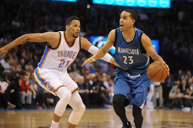 Thunder lose Andre Roberson for 2 to 3 weeks with sprained right ankle