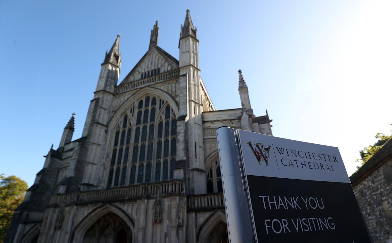 <p>Winchester: The area around the Hampshire town has been inhabited since pre-history. The cathedral is one of the largest in Europe, and dates from about 1079. (Andrew Matthews/PA Images via Getty Images) </p>
