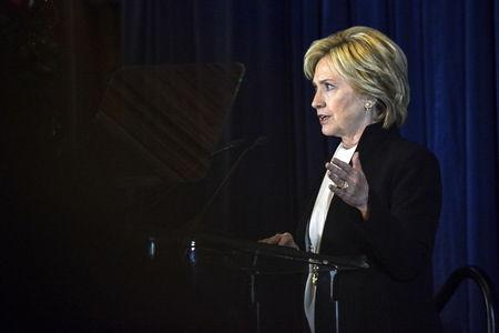U.S. Democratic presidential candidate and former Secretary of State Hillary Clinton delivers the keynote address at the Brookings Institution Saban Forum at the Willard Hotel in Washington December 6, 2015. REUTERS/James Lawler Duggan
