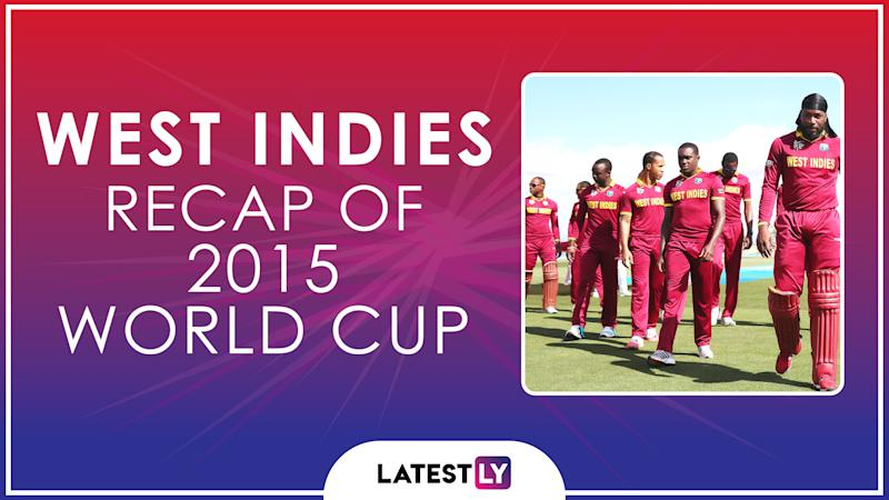 Ahead of ICC Cricket World Cup 2019, Here's a Look Back at How West Indies Fared at the Last Edition of the CWC