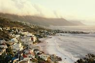 <p>The luxe beach houses here might try to overshadow this coastline, but the beach itself is still the most beautiful part of this Cape Town suburb.</p>