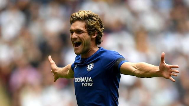 Marcos Alonso's hit an 88th-minute winner having also stunned Wembley with a brilliant free-kick in Chelsea's 2-1 win against Tottenham.