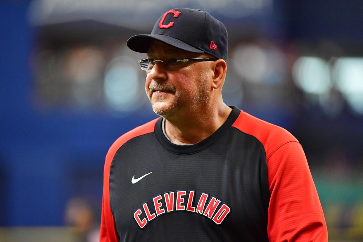 Terry Francona with Cleveland.