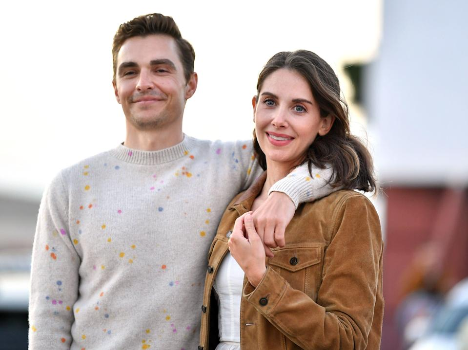 Dave Franco Alison Brie Amy Sussman Getty