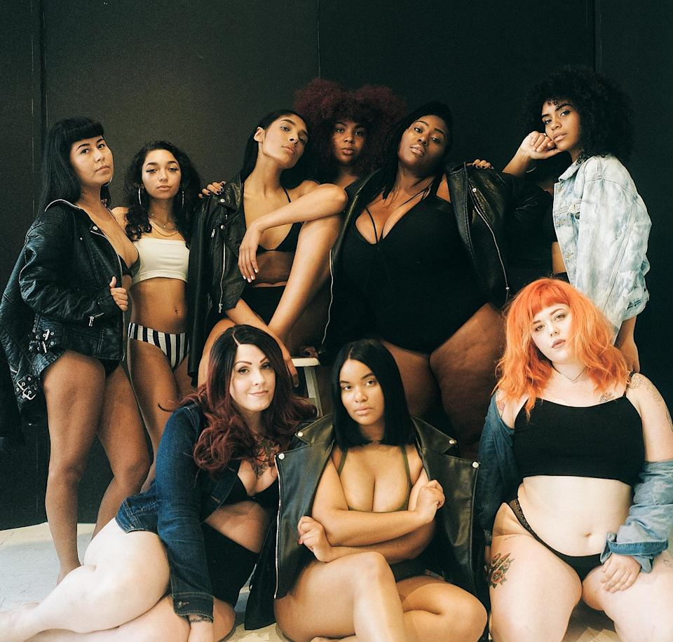 "Diverse cast of women star in Phase 2 of #becauseitsmybody campaign. (Photo: <a href=""https://www.instagram.com/shairacnyc/?hl=en"" rel=""nofollow noopener"" target=""_blank"" data-ylk=""slk:Shaira Chaer"" class=""link rapid-noclick-resp"">Shaira Chaer</a>)"
